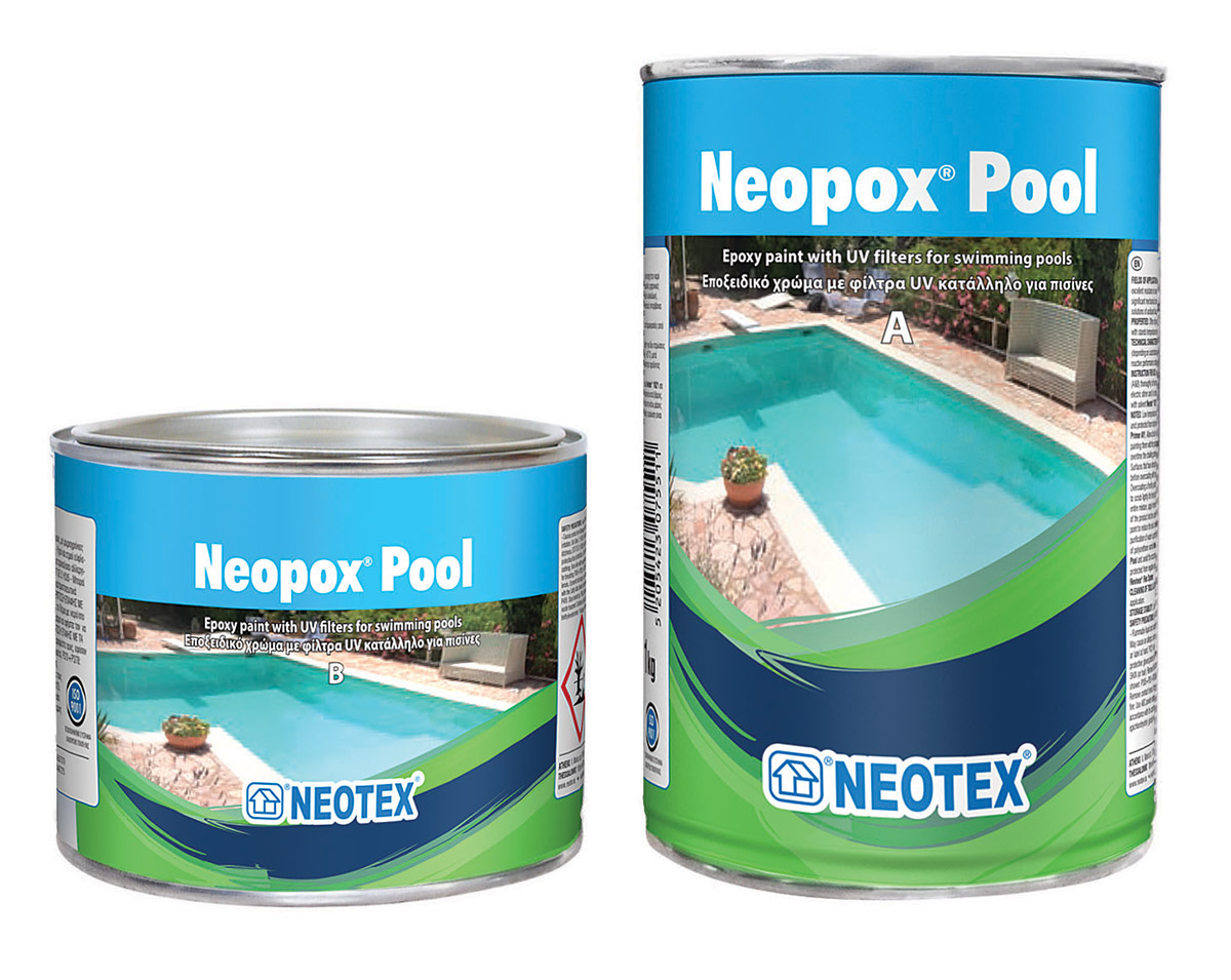 Waterproof Paint For Swimming Pools : Neopox pool