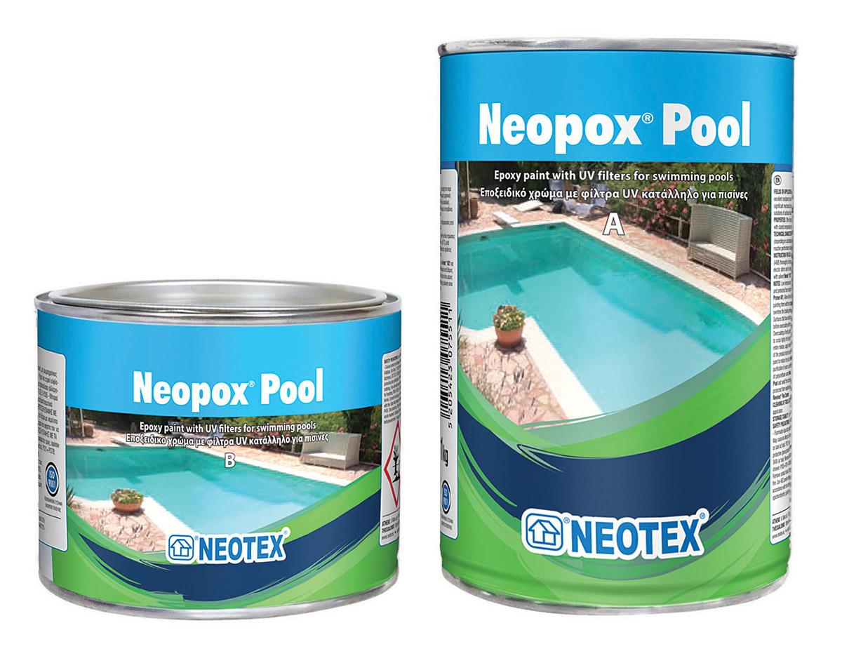 Neopox pool - Waterproof paint for swimming pools ...